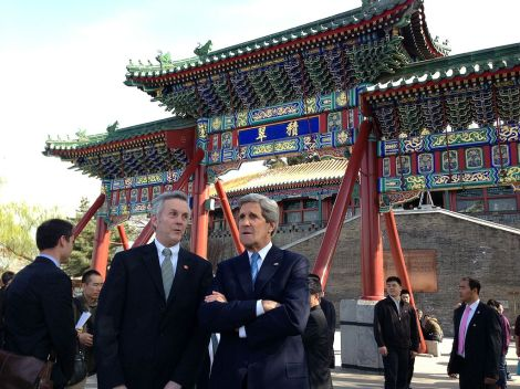 John Kerry in Beijing