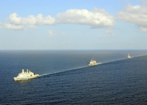 US_Navy_090220-N-1082Z-082_Absalon_(L_16),_USS_Vella_Gulf_(CG_72)_USS_Mahan_(DDG_72)_transit_the_Gulf_of_Aden